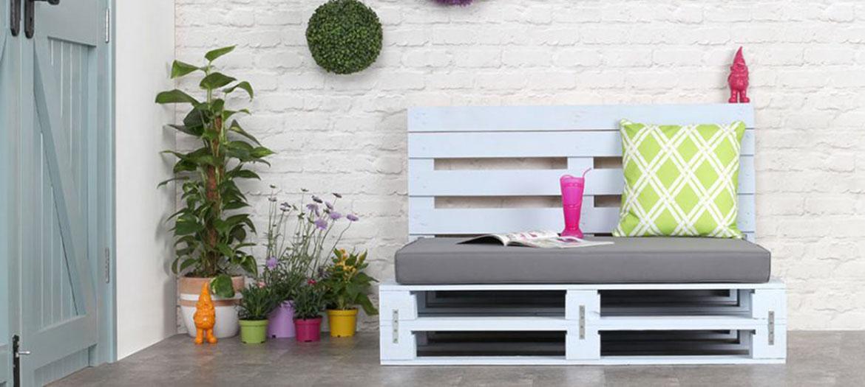 palet bahçe mobilyası